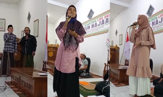 Life Skill Daarun Najaah Gelar Kreasi Seni, Santri Baru Nyanyikan Lagu Pilihan