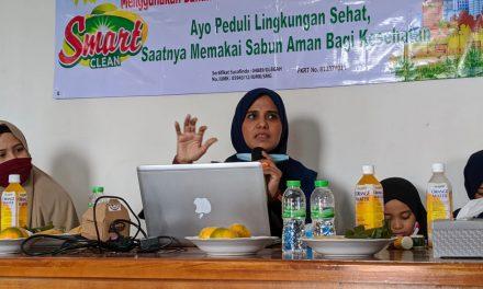 Pesantren Life Skill Daarun Najaah Adakan Pelatihan Wirausaha Pembuatan Sabun Ramah Lingkungan dan Kesehatan